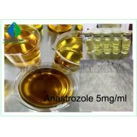 China Injectable Anabolic Steroids Drugs Vial Anastrozole 5mg / Ml For Muscle Gaining on sale