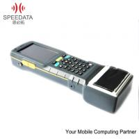 Waterproof Mobile Thermal Printer Android 4.0 Hand Barcode Scanner , Phone Call Function Manufactures