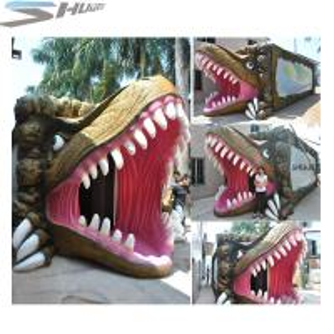 Amusement Park Dinosaur Pneumatic Surround 7.1 Audio 5D Theater System Manufactures