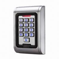 Waterproof access control system, IP68, available in 2,000 codes Manufactures