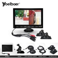 China Foldable TFT LCD 7 Inch Rear View Monitor Camera Hidden Reverse Parking Aid System on sale
