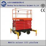 mobile hydraulic scissor lift platform for paint Manufactures