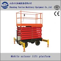 China mobile hydraulic scissor lift platform for paint on sale