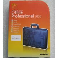 Microsoft Office 2010 professional retail box Manufactures