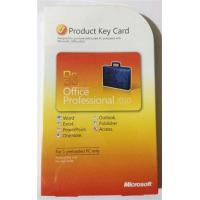 Office 2010 Product Key Card For  Office Professional 2010 Manufactures