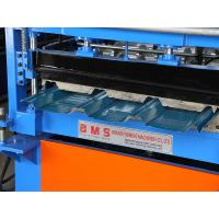 Quality Durable Metal Iron Roofing Sheet Roll Forming Machine For Colored Steel Use for sale