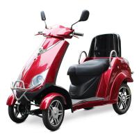 Old Man 4 Wheel Electric Scooter Customized 500W Four Wheel Electric Scooter Manufactures