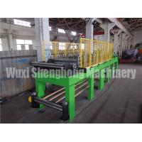 China 0.7 Mpa Air Pressure EPS Sandwich Wall Panel  Roll Forming Machine  With  Mitsubishi PLC & Converter on sale