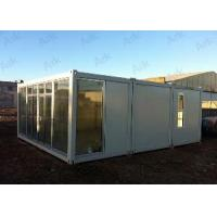 20 Container House with Heat and Sound Insulation Manufactures