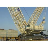 Durable Heavy Lifting Mobile Hydraulic Crawler Crane Safe For Petrochemical Manufactures