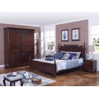 Quality Rubber Wood made bedroom furniture in Special design Modern Headboard with wood for sale