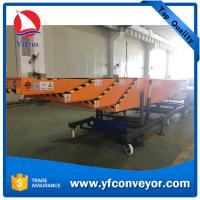 Automatic 40ft Container Loading Offloading Conveyor Manufactures