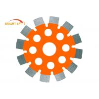 "MPA 5"" X 250'' Tuck Point Saw Blade With Alloy Steel Core / 2.5 Inch Segment Width Manufactures"