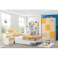 Buy cheap child bed room furniture wooden single bed with drawer 111 from wholesalers