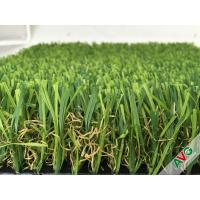 Decorative Leisure Artificial Grass Carpet / Landscaping rugs 18700Dtex 8 Years Warranty Manufactures
