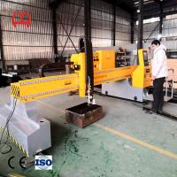 China 220V Industrial Pipe Cutting Machine 1000KG Weight USB File Transmission Function on sale