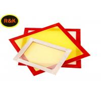 Factory Manufacturer Aluminum Silk Screen Printing Frame With 64T Polyester Mesh Manufactures