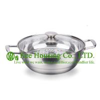 Stainless steel cookware/induction cooking pot / steamer pot/soup/mini pot kitchen for sale