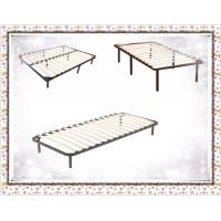 China Wooden Slat Bed Frame 8 Legs Queen/Full/King on sale