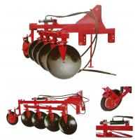 1LYDP series farm tractor mounted two-ways hydraulic turning disc plough,working depth 250-300mm Manufactures