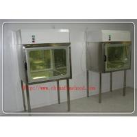 Laboratory Clean Transfer Window Pass Box Air Shower Unit Double - Layer Shell Inside And Outside Manufactures
