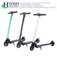 China Two Wheel 6 Inch Adult  Electric Kick Scooter Aluminum Alloy 250W Foldable on sale