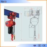 Remote Control 10 ton Electric Chain Hoist With Running H Beam Manufactures
