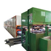 6000pcs per hour Recycled waste paper fruit tray making machine Manufactures