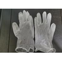 China Disposable vinyl glove powder free non rubber pvc material CE Certificated on sale