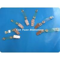 China Metal/Plastic badge clip with superior quality on sale