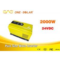 Pure Sine Wave Invertor Single Phase 2 Kw Solar Inverter For Drinking Fountains Manufactures
