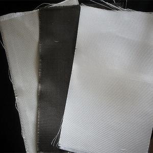 Dust / Air / Powder Filtration Filter Press Cloth 360gsm E Glass Non Alkali Graphite Fiberglass Cloth Manufactures