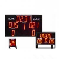 College Digital Electronic Basketball Scoreboard Standard And Economy Model Manufactures