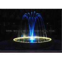 Stainless Steel Material Laminar Water Jet Fountain For Outdoor / Indoor Manufactures