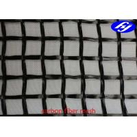 20MM X 20MM Carbon Fiber Mesh Fabric Sustainable Concrete For Structure Reinforcement Manufactures