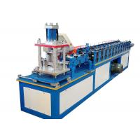 Buy cheap Metal Decoration Door Shutter Roll Forming Machine High Speed 30-50 M / Min from wholesalers