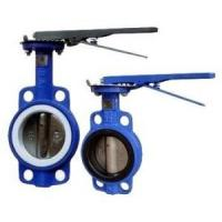 Buy cheap Manual Operated Wafer valve butterfly Ductile Iron GGG40 Body,PN16,JIS 10K,150LB from wholesalers