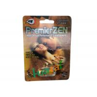 China Red 3D Cards Natural Male Enhancement Pills For Preventing Premature Ejaculation on sale