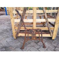 Park Furniture Cast Iron Bench Ends Durable For Garden Decoration Manufactures