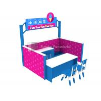 Quality Role Play Center--Kids Indoor Playground Equipment--FF-Icecream Shop for sale