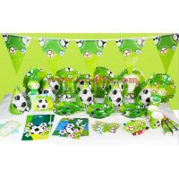 2019 Kids Boys Birthday Party Decoration carton Set Football Theme Party Supplies Baby Birthday Party celebration for sale