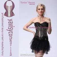 Buy cheap sexy girdle leopard sexy girls with animal sex gothic corset from wholesalers