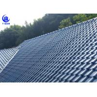 Anti Corrosion Asa Synthetic Resin Roof Sheet High Pavement Efficiency Manufactures