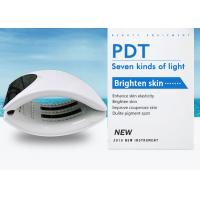 OEM PDT LED Light Therapy Machine For Female Beauty Care / LED Light Face Mask Manufactures