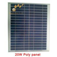 Poly Crystalline 20W 18V Solar Panel Manufactures