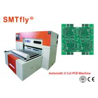 0.4mm Thickness PCB Automatic Scoring Machine With Electronic Control System Manufactures