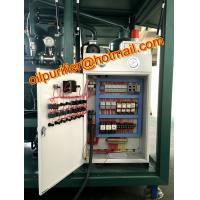 Quality portable transformer oil filtration machine with online moisture PPM sensor and for sale
