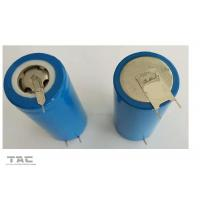 Blue Cylindrical LiFePO4 Battery IFR32700 6AH 3.2V With Tag For  Electronic Fence Manufactures