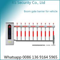 China Anti Smashing Parking Lot Electric Boom Barrier Gate Operator 3-6m Arm Length on sale