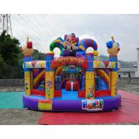 China Circus World Jumper Bounce House 5x5x4.1 Meter 1 Year Warranty on sale